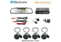 Blackview VPM-4.2 BLACK (3 в 1) парктроник