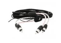 Audison BT4 550.1 Four межблочный кабель RCA 5 м. двойной