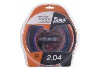Провода комплект AMP 2.04 (CCA) для 2х канального усилителя