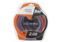 Провода комплект AMP 2.08 (CCA) для 2х канального усилителя
