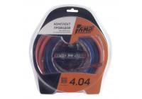 Провода комплект AMP 4.04 (CCA) для 4х канального усилителя