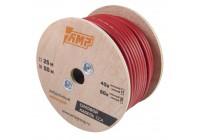 Провод силовой AMP CCA Ultraflexible 8Ga Красный