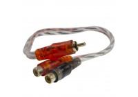 Провод соединительный AMP M-1M2F RCA-Разветвитель 1ПАПА-2МАМА