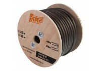 Провод силовой AMP 100% OFC Ultraflexible 4Ga Черный медь