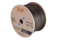 Провод силовой AMP 100% OFC Ultraflexible 8Ga Черный медь