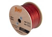 Провод силовой AMP 100% OFC Ultraflexible 8Ga Красный медь