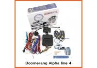 Boomerang Alpha line 4 сигнализация