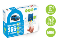 Сигнализация StarLine S66 BT GSM mini