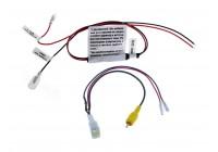 Адаптер Ksize BC2-1 для подключения штатной видеокамеры toyota к новой магнитоле (без преобразователя напрежения)