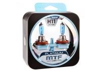 Галоген MTF набор H11 12V 55w Platinum/3800К.