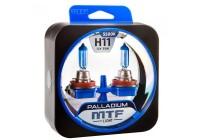 Галоген MTF набор H11 12V 55w Palladium/5500К.