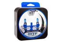 Галоген MTF набор H1 12V 55w Palladium/5500К.