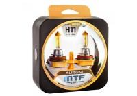 Галоген MTF набор H11 12V 55w Aurum/3000К.