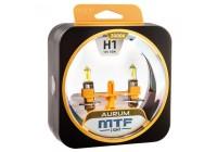 Галоген MTF набор H1 12V 55w Aurum/3000К.