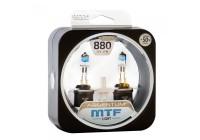 Галоген MTF набор H27 (880) 12V 27w Argentum +50