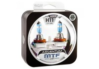 Галоген MTF набор H11 12V 55w Argentum+80%/4000К