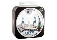 Галоген MTF набор H1 12V 55w Argentum+80%/4000К