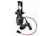 Би-ксеноновая лампа MTF H4 H/L 5000K