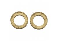 FAN-TW6-1 Кольцо проставочное для рупоров с утоплением Фанера 15мм (пара)