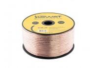Провод акустический SWAT SCW-16 (16GA-1m) омедненный алюминий - ССА/цвет прозрачный