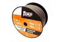 Провод силовой AMP CCA 4 Ga Black