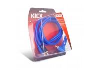 Провод соединительный KICX LRCA21 RCA Межблочный кабель (1 м)