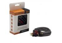 Провод соединительный AMP FRCA-2 Межблочный кабель-медь+экран (2м)