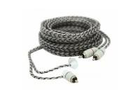 Провод соединительный Audison FT2 550 Two Межблочный кабель кабель RCA 5 м.