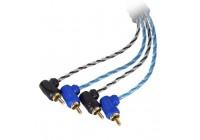 Провод соединительный KICX LRCA45 RCA Межблочный кабель (5 м)