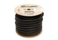 Провод силовой SWAT APS-00B (черный 00Ga -1m) медь 99,99%