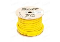 Провод силовой SWAT APS-00Y (желтый 00Ga -1m) медь 99,99%