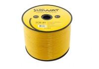 Провод силовой SWAT SCW-8Y (8Ga -1m) омедненный алюминий - ССА/цвет желтый