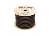 Провод силовой SWAT SPW-2B/APS-02B (черный 2Ga -1m) медь 99,99%