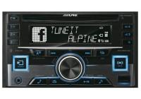 Alpine CDE-W296BT CD/mp3-ресивер магнитола