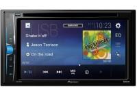 Pioneer AVH-A101 2din (DSP Врем.задержки) мультимедиа Ресивер-DVD магнитола