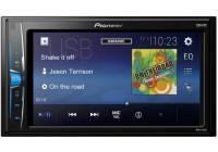 Pioneer MVH-A100V 2din (DSP Врем.задержки) мультимедиа Ресивер-USB магнитола