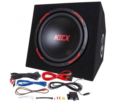 Kicx GT301BA сабвуфер корпусной активный