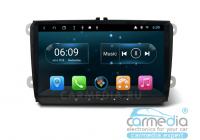 Volkswagen, Skoda, Seat (по списку) CARMEDIA YR-9122-S9-DSP-4G Android 8.1 Штатное головное мультимедийное устройство