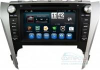 Toyota Camry 2011-2014 (V50) поддержка штатного усилителя и настроек машины CARMEDIA QR-8010-T8 Штатное головное мультимедийное устройство на OC Android 7.1.2 / 8.1
