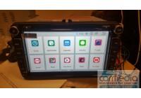 Volkswagen, Skoda, Seat (по списку) CARMEDIA MKD-8019-P30-8 Android 9.0 Штатное головное мультимедийное устройство