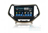 Штатная магнитола для Jeep Cherokee 2014+ CARMEDIA QR-1057-T8 на OC Android 7.1.2