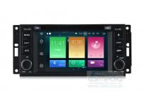 Штатная магнитола для Jeep, Dodge, Chrysler (по списку) CARMEDIA MKD-J613-P30-8 Android 9.0