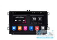 Volkswagen, Skoda, Seat (по списку) CARMEDIA OL-9972-S9-DSP-4G Android 8.1 Штатное головное мультимедийное устройство