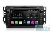 Chevrolet Aveo 2005-2011 (T250), Epica 2006-2012, Captiva 2006-2011 (202х120мм) CARMEDIA RL020-P5-8 Штатное головное мультимедийное устройство