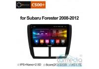 Subaru Forester 2008-2013 CARMEDIA OL-9512-8 (C500+) Штатное головное мультимедийное устройство