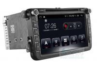 Volkswagen, Skoda, Seat CARMEDIA ASR-T10-810 Штатное головное мультимедийное устройство на OC Android 6.1