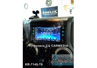 Штатная магнитола для Jeep, Dodge, Chrysler (по списку) CARMEDIA QR-7145-T8 на OC Android 9.0