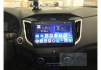 Hyundai Creta 2016+ (поддержка заводской камеры заднего вида) CARMEDIA KR-1101-T8 Штатное головное мультимедийное устройство на OC Android 9.0