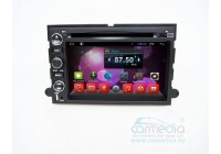 Ford 188х118мм Explorer, Expedition, Mustang, F150, F250, F350, F450 CARMEDIA QR-7057-T8 Штатное головное мультимедийное устройство на OC Android 7.1.2