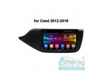 Kia Cee'd II 2012+ (рамка глянец) CARMEDIA OL-9781-MTK (Ownice C500+) Штатное головное мультимедийное устройство на OS Android
